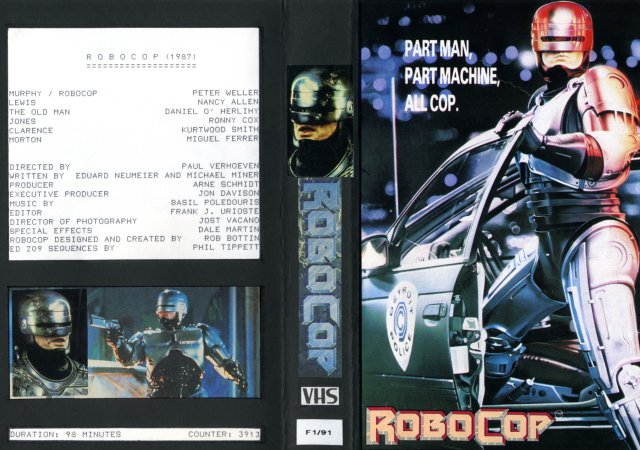 Robocop VHS