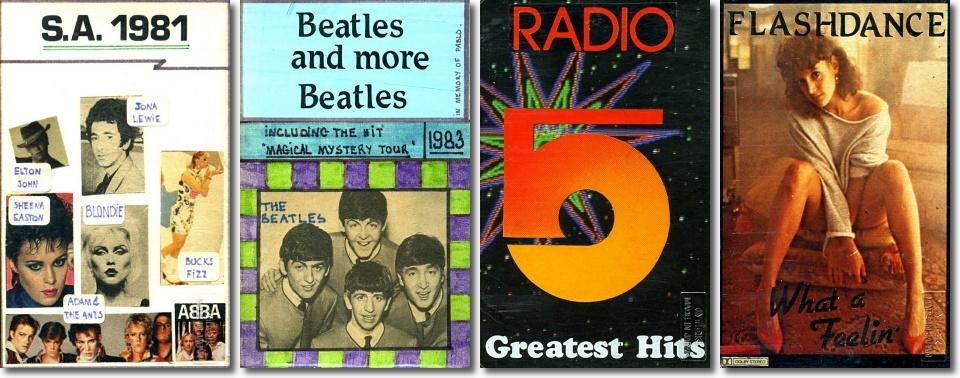 Old cassette artwork