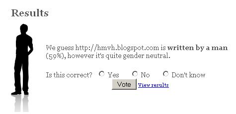 Gender Poll