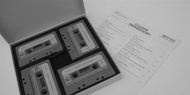 Goldene Erinnerungen 4x cassette box set