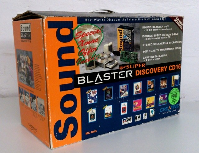 Sound Blaster Multimedia Upgrade Kit